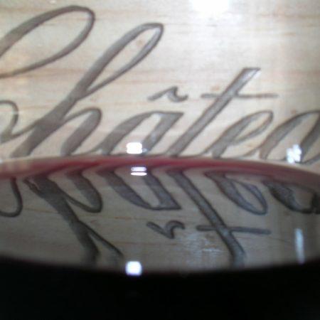 photo verre de vin du cours vin