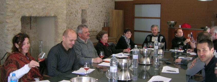 Stage d'oenologie : dégustation et connaissance du vin (week-end)