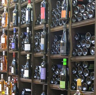 rayon de magasin pour choisir son vin